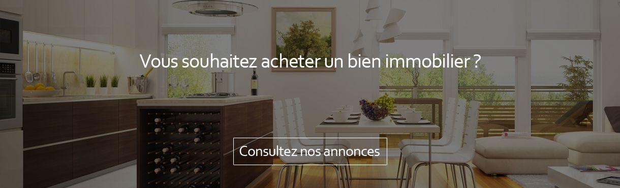 annonces vente immobilières